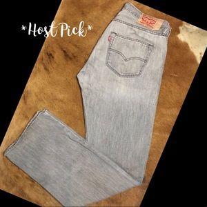 *Levi's* 501's W 33 L 32 Stone/grey wash.